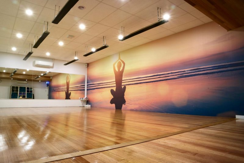 Yoga Room Wall Graphics