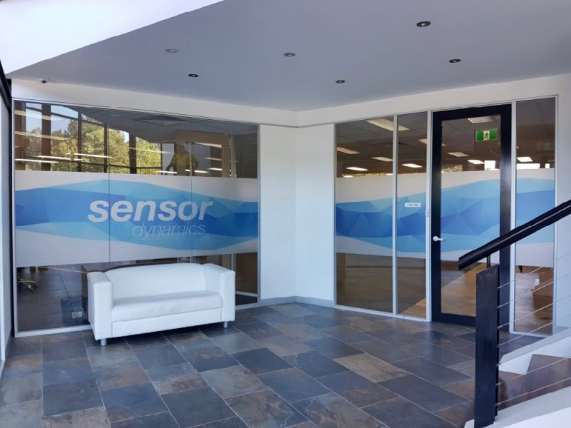 Sensor Window Frosting