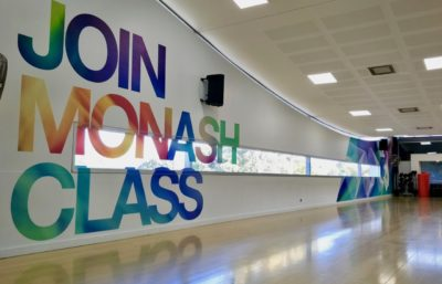 ACT!VE MONASH WALL GRAPHICS