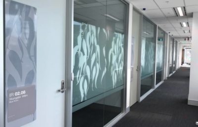 Magistrates Court Window Graphic